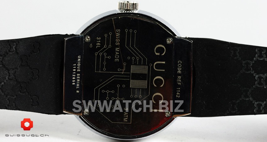 gucci watch code ref 1142 unique serial