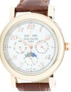 Patek Philippe Calendar Gold Brown