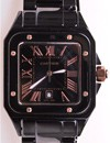Cartier Santos All Black Ceramic
